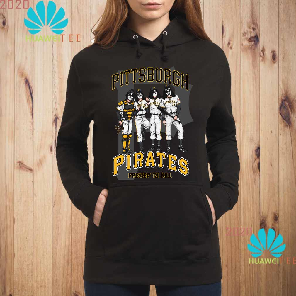 Kiss Pittsburgh Pirates Dressed To Kill Hoodie