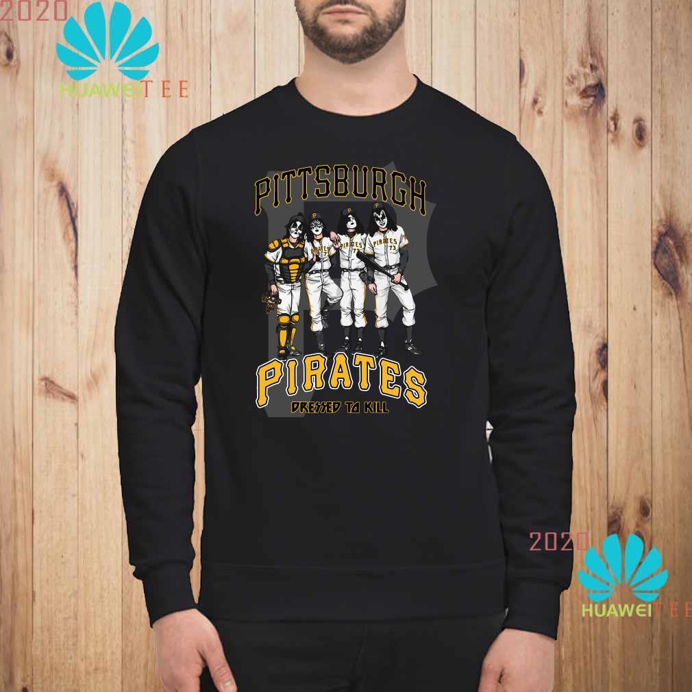 Kiss Pittsburgh Pirates Dressed To Kill Sweatshirt