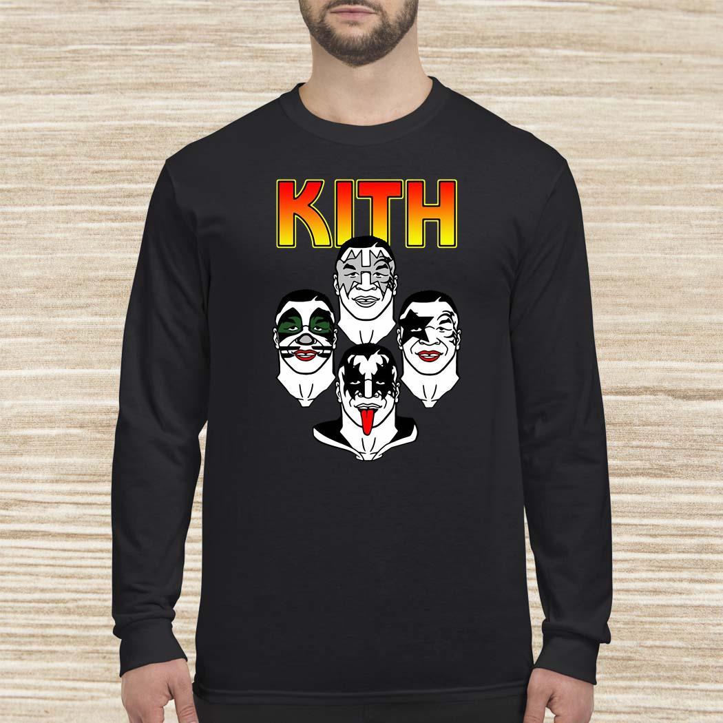 Kith Mike Tyson Kiss Long-sleeved