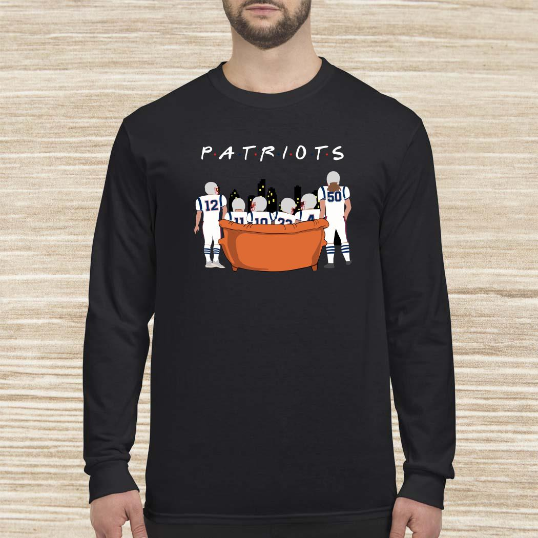 New England Patriots Friends TV Show Long-sleeved