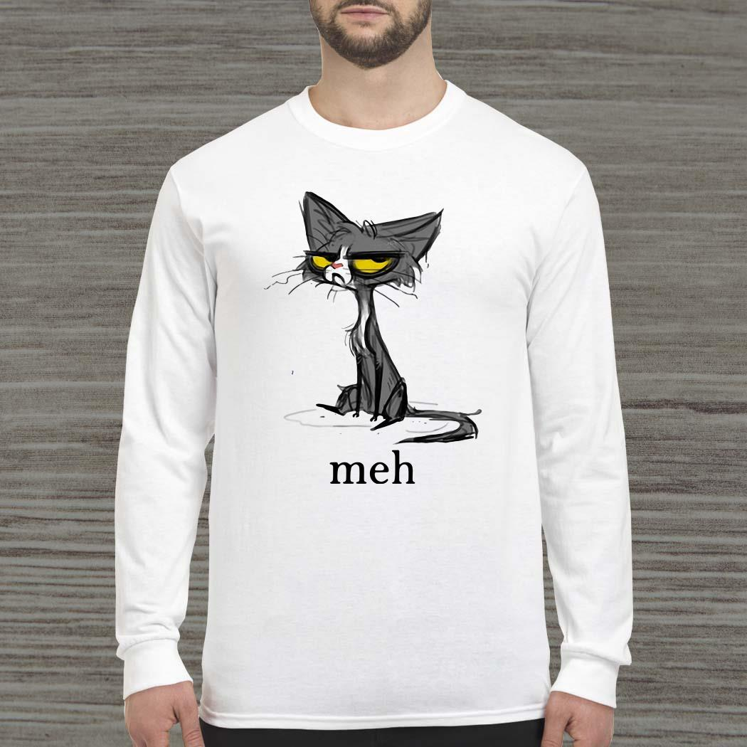 Siamese Cat Meh Long-sleeved