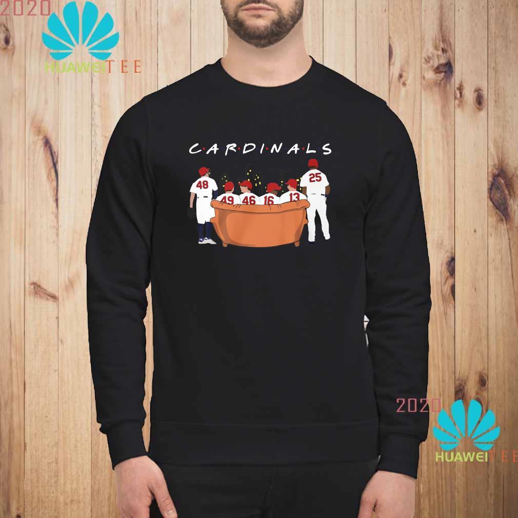 St. Louis Cardinals Friends TV Show Sweatshirt