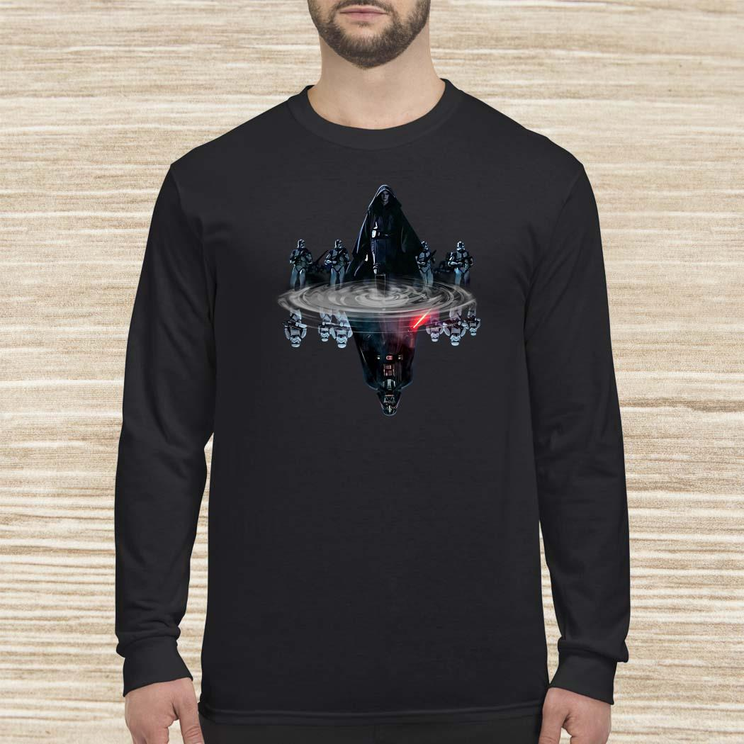 Star Wars Reflection Mirror Water Long-sleeved