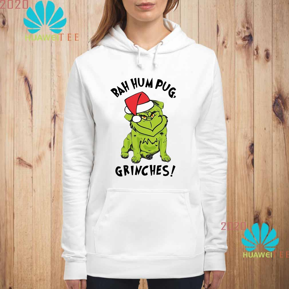 Bah Hum Pug Grinches Christmas Hoodie