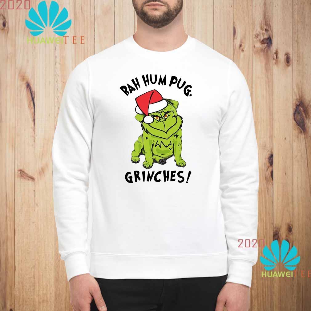 Bah Hum Pug Grinches Christmas Sweatshirt