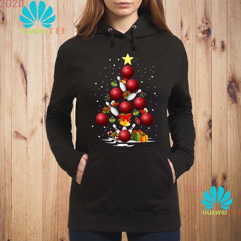 Bowling Christmas Tree Hoodie