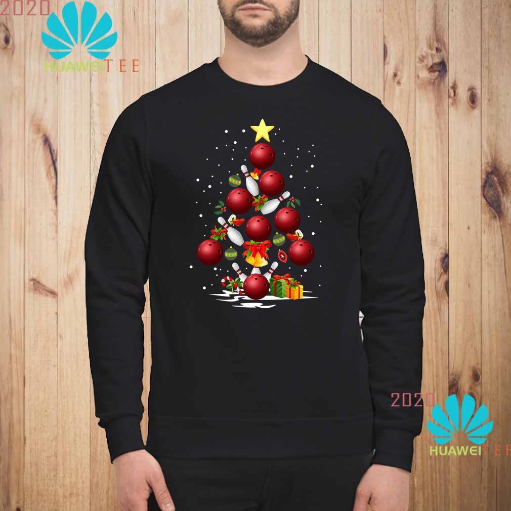 Bowling Christmas Tree Sweatshirt