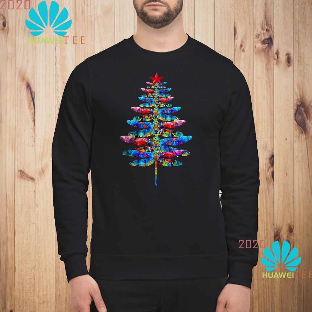 Dragonflies Christmas Tree Sweatshirt