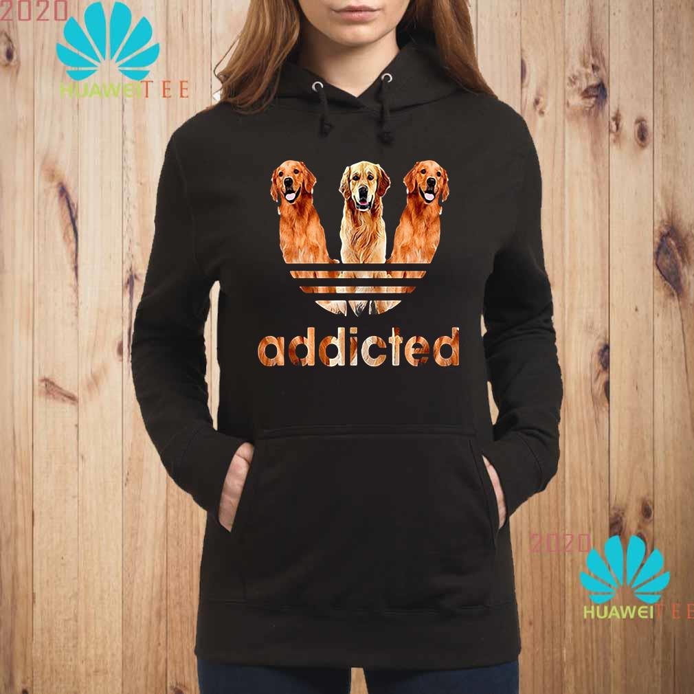 Golden Retriever Addicted Hoodie