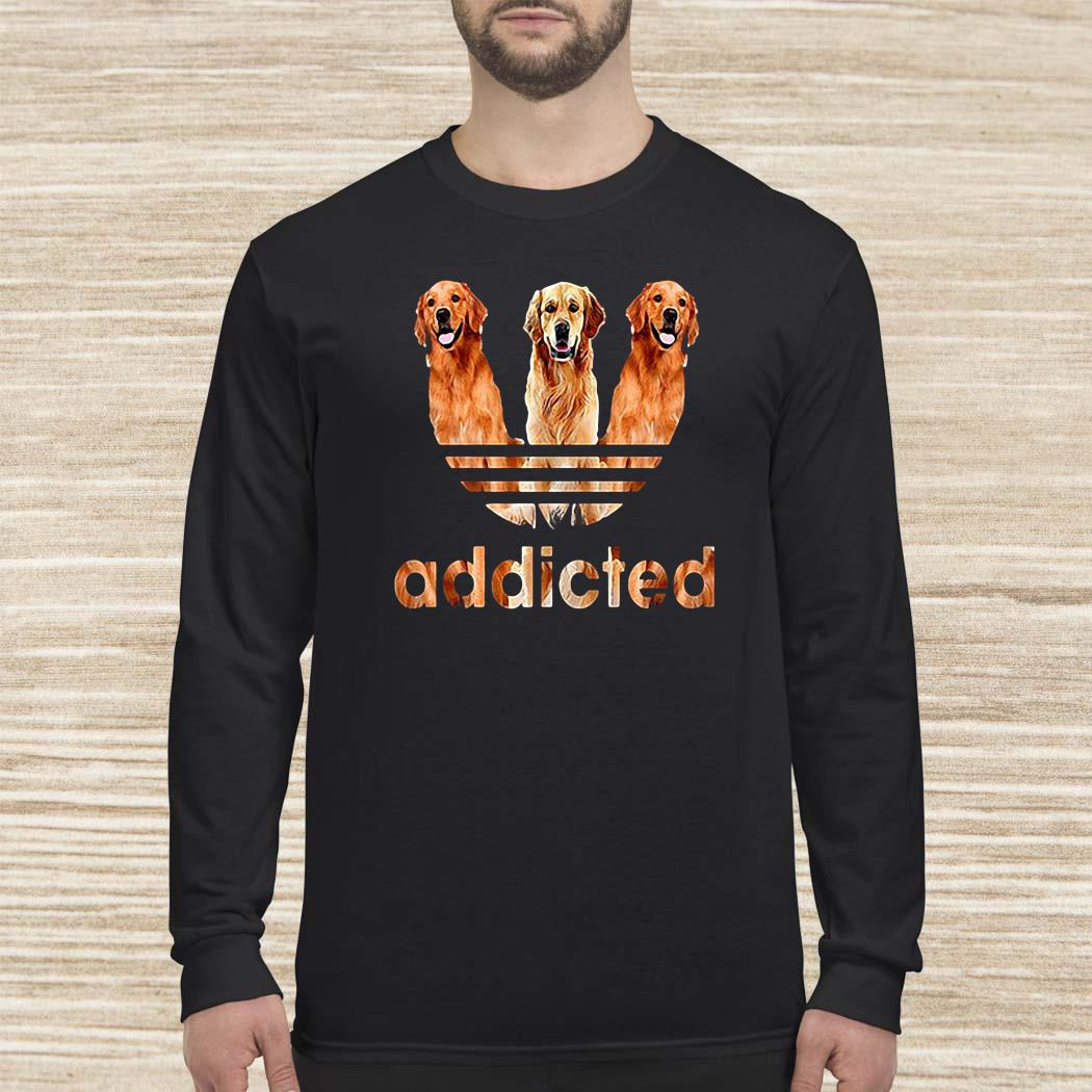 Golden Retriever Addicted Long-sleeved