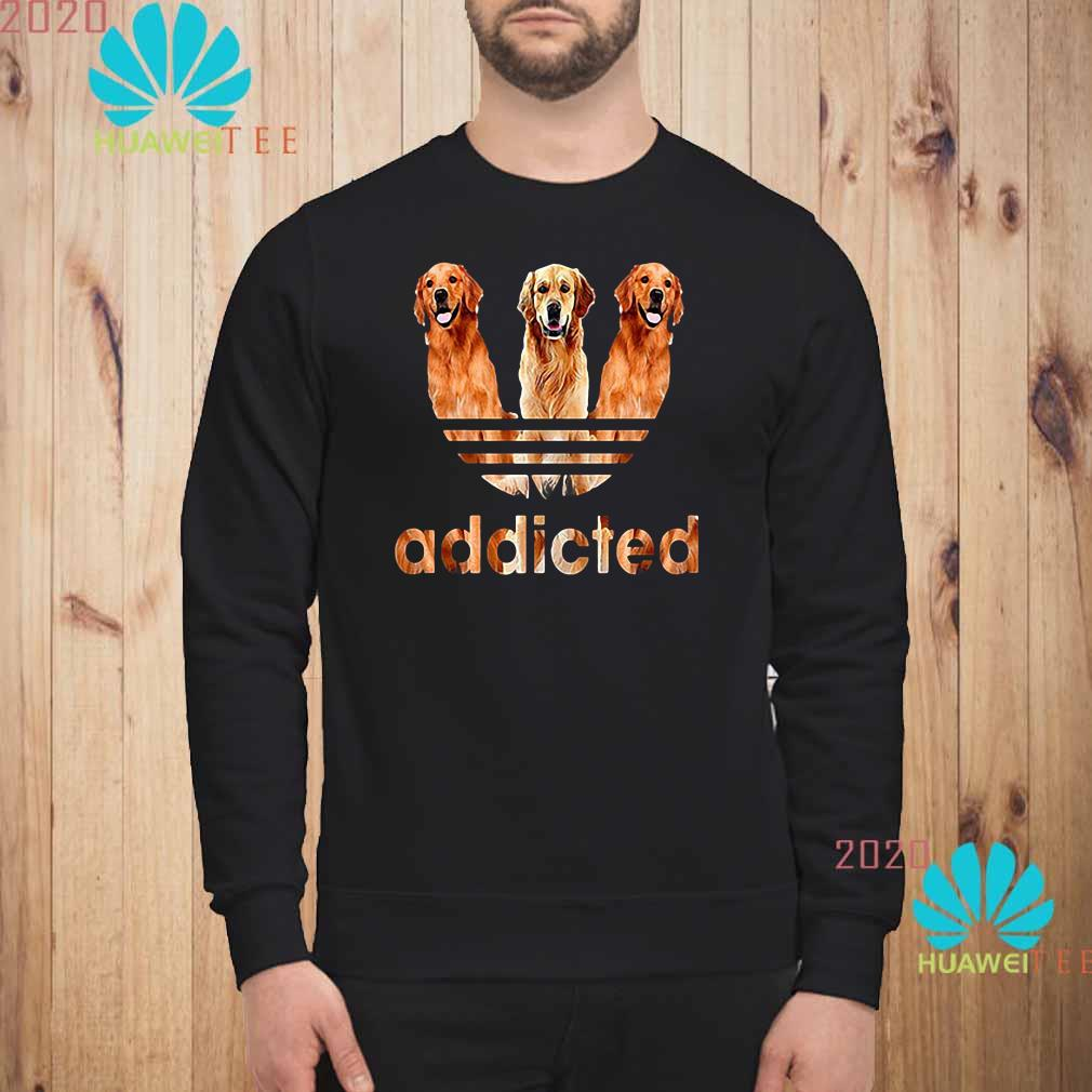 Golden Retriever Addicted Sweatshirt