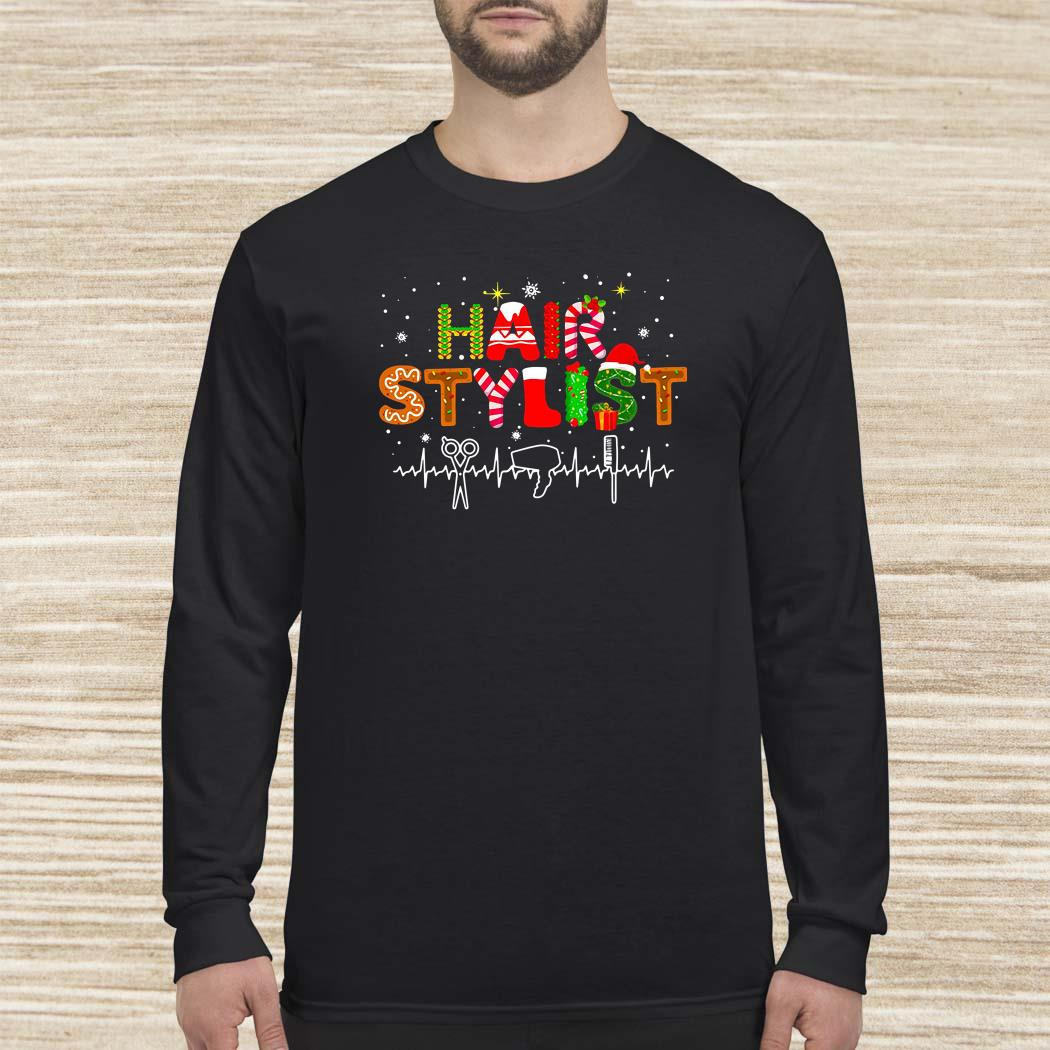 Hair Stylist Christmas Long-sleeved