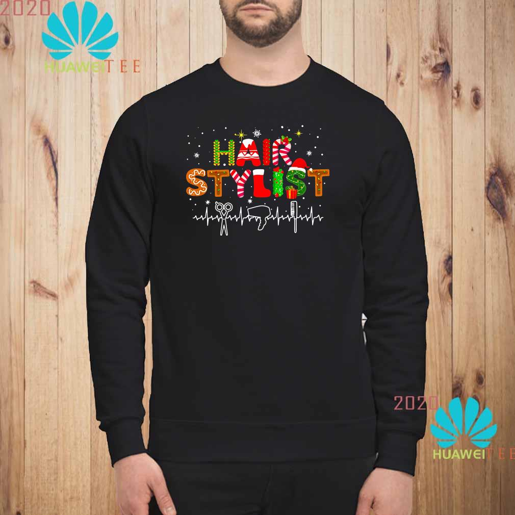 Hair Stylist Christmas Sweatshirt