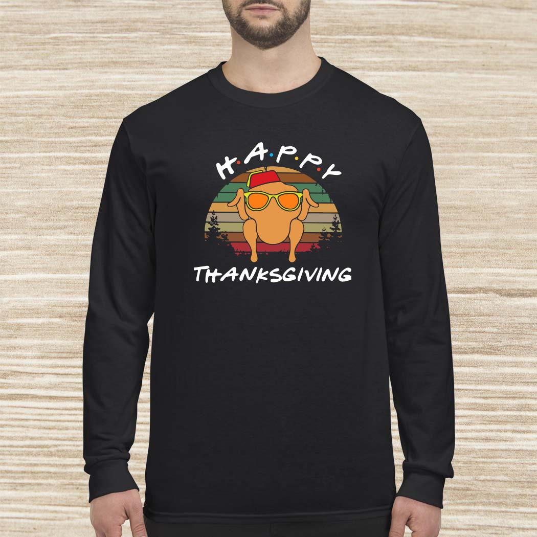 Happy Thanksgiving Vintage Long Sleeved