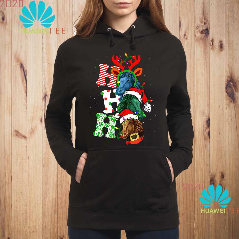 Ho Ho Ho Horse Christmas Hoodie
