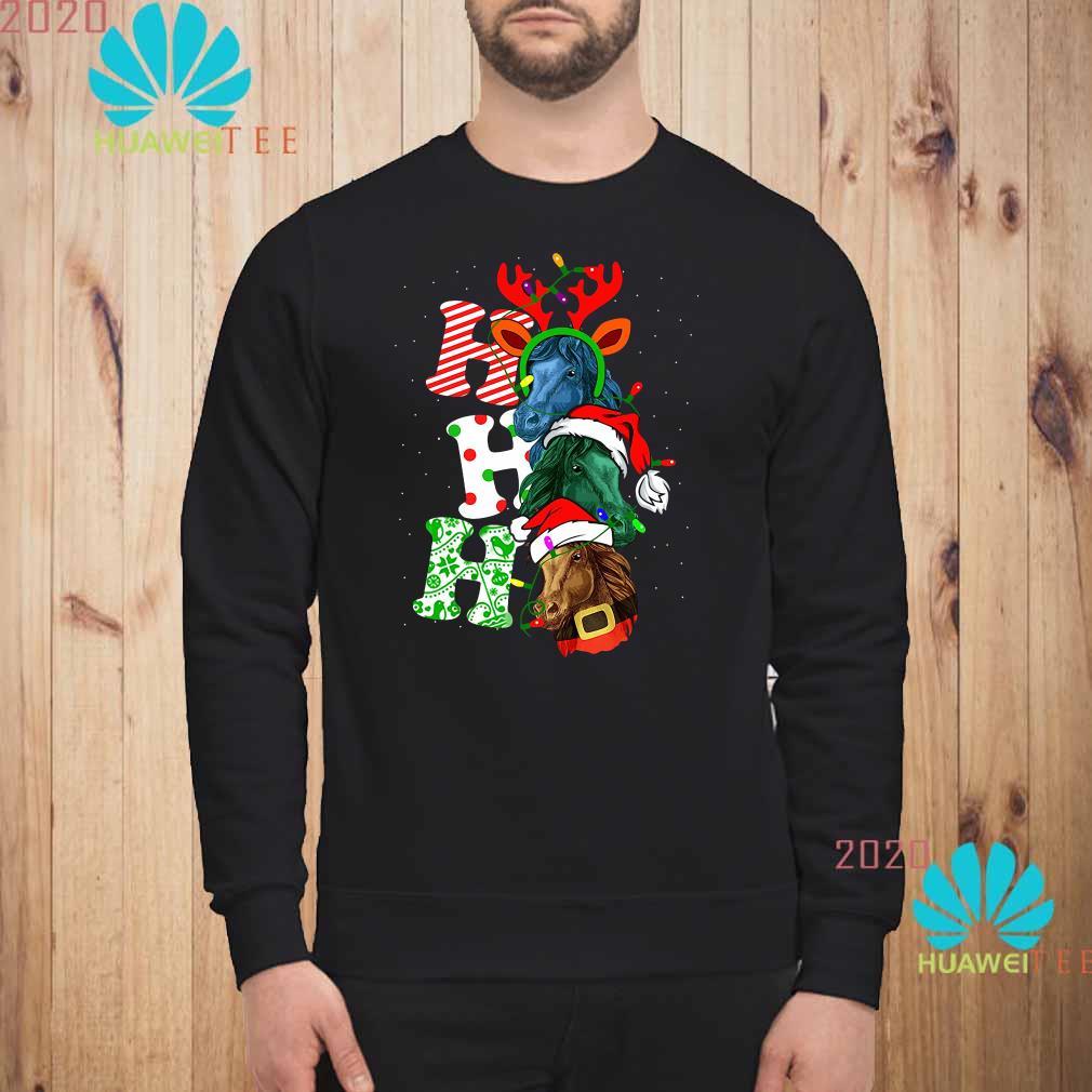 Ho Ho Ho Horse Christmas Sweatshirt