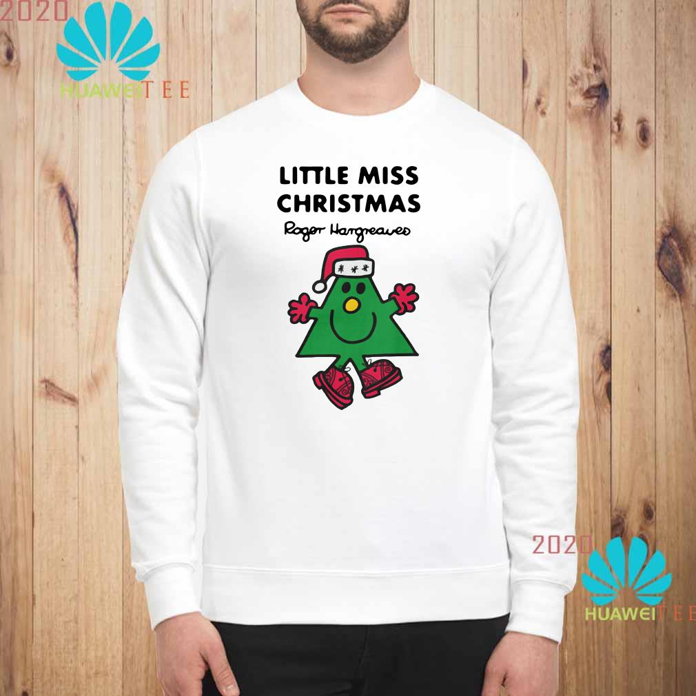 Little Miss Christmas By Roger Hargreaves Sweatshirt