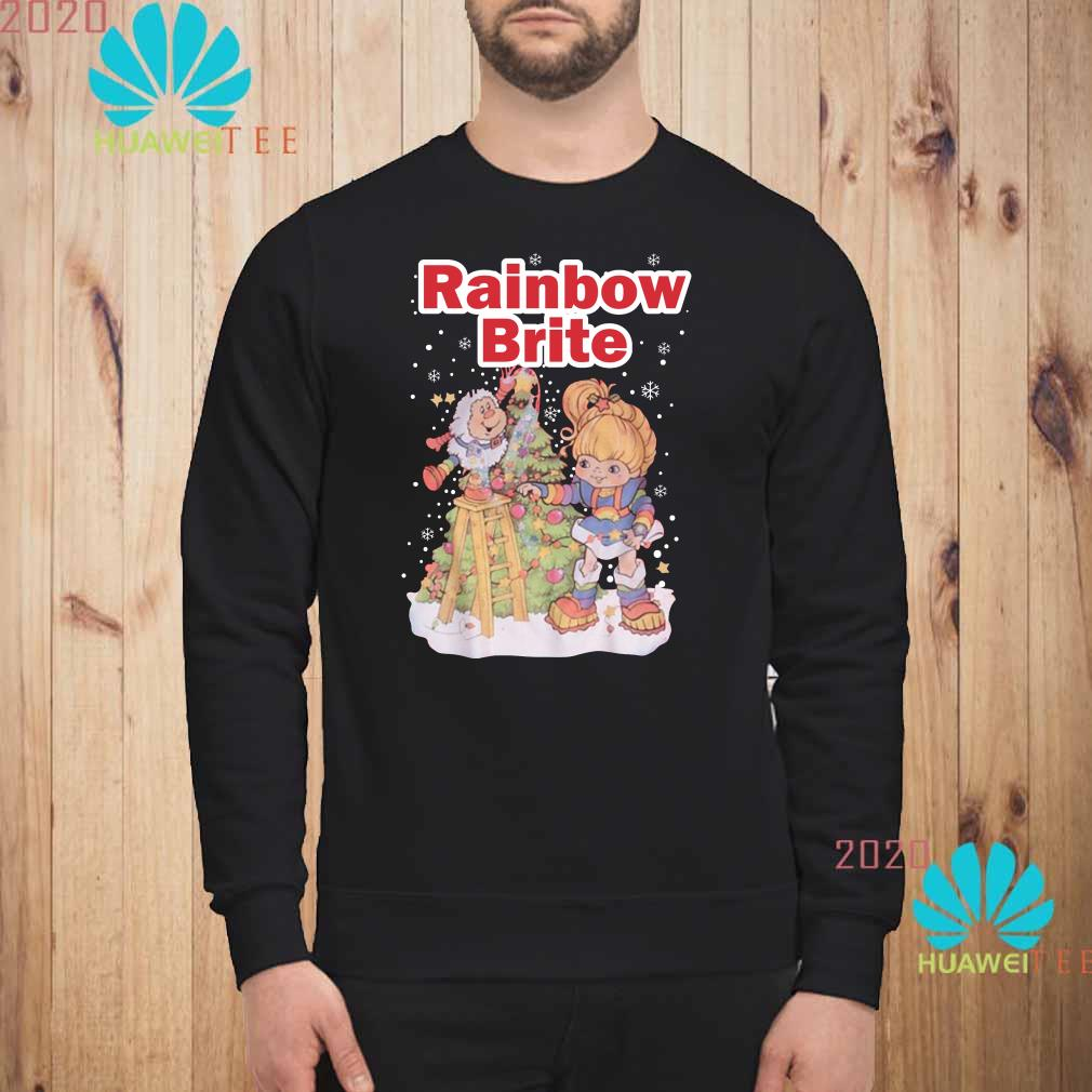 Rainbow Brite Christmas Sweatshirt