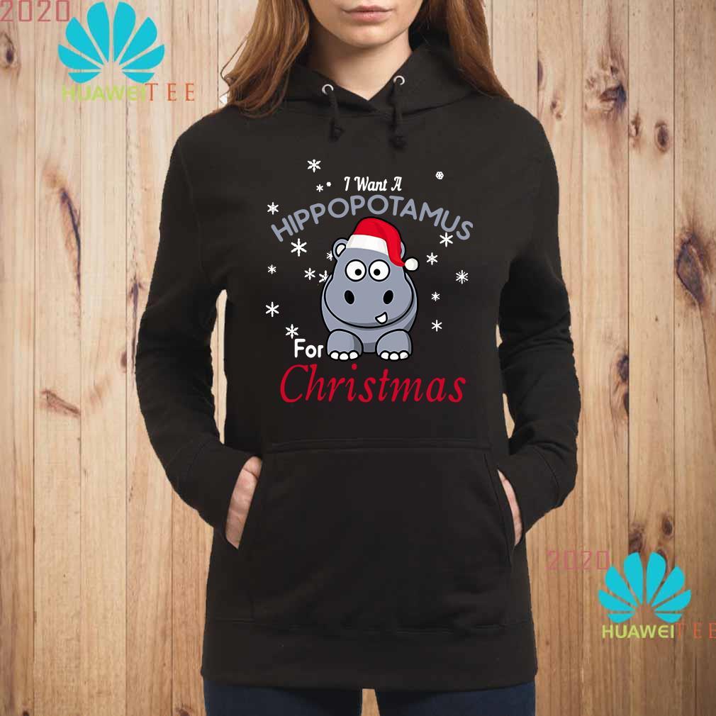 I Want A Hippopotamus For Christmas Hoodie