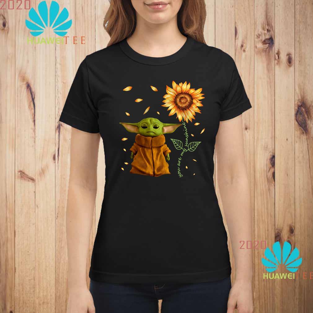 Baby Yoda You Are My Sunshine Ladies Shirt