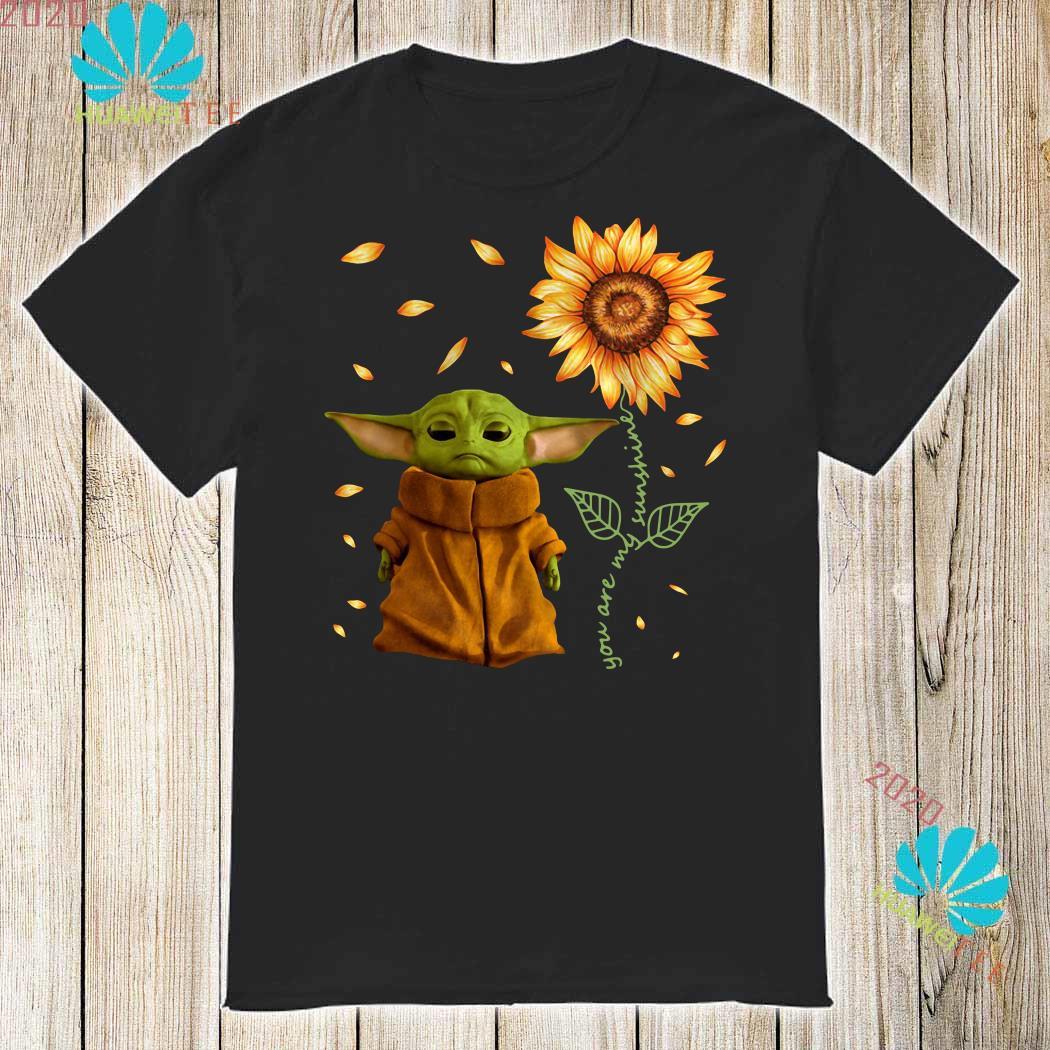 Baby Yoda You Are My Sunshine Shirt