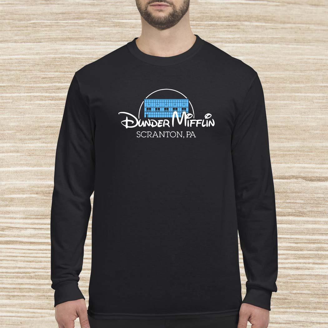Dunder Mifflin Scranton Pa Long-sleeved