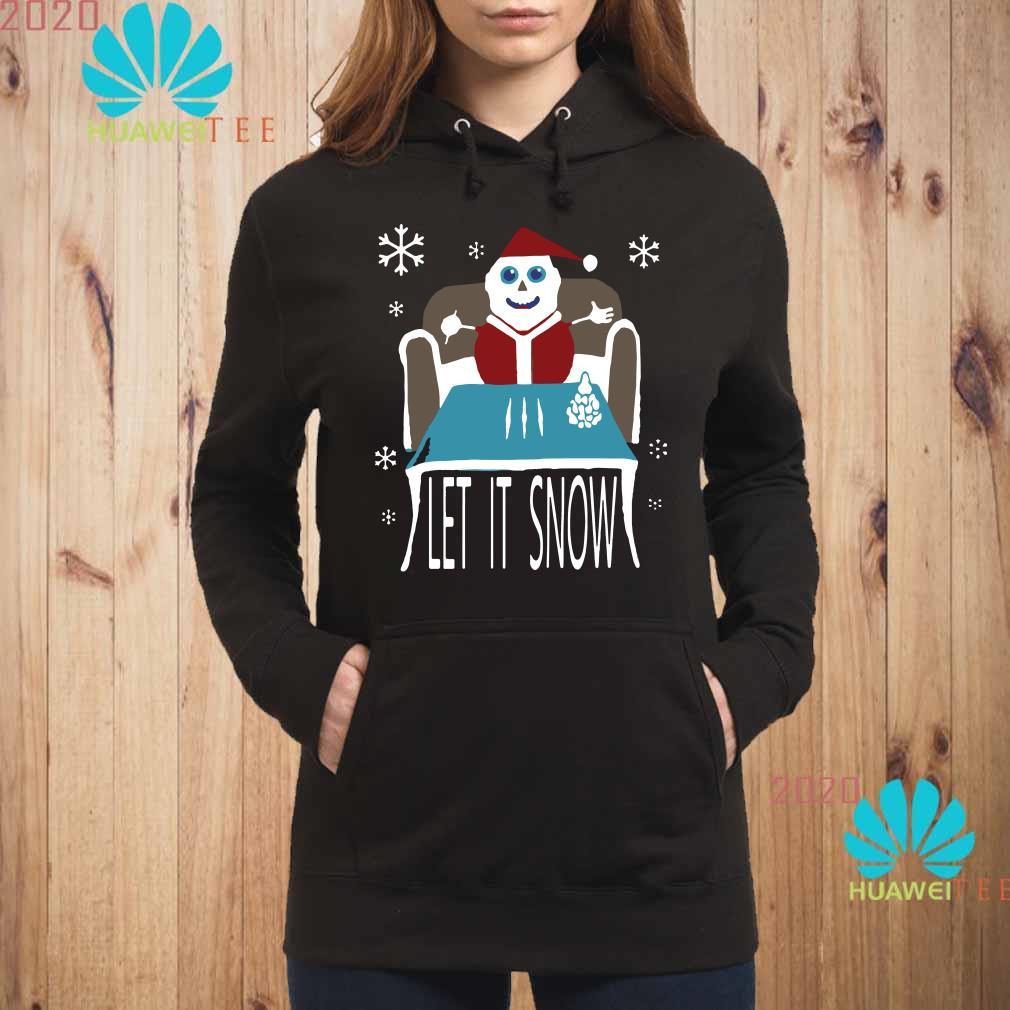 Walmart Cocaine Santa Let It Snow Hoodie