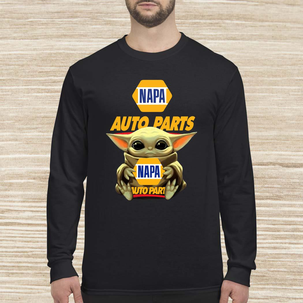Baby Yoda Hug Napa Auto Parts Long-sleeved