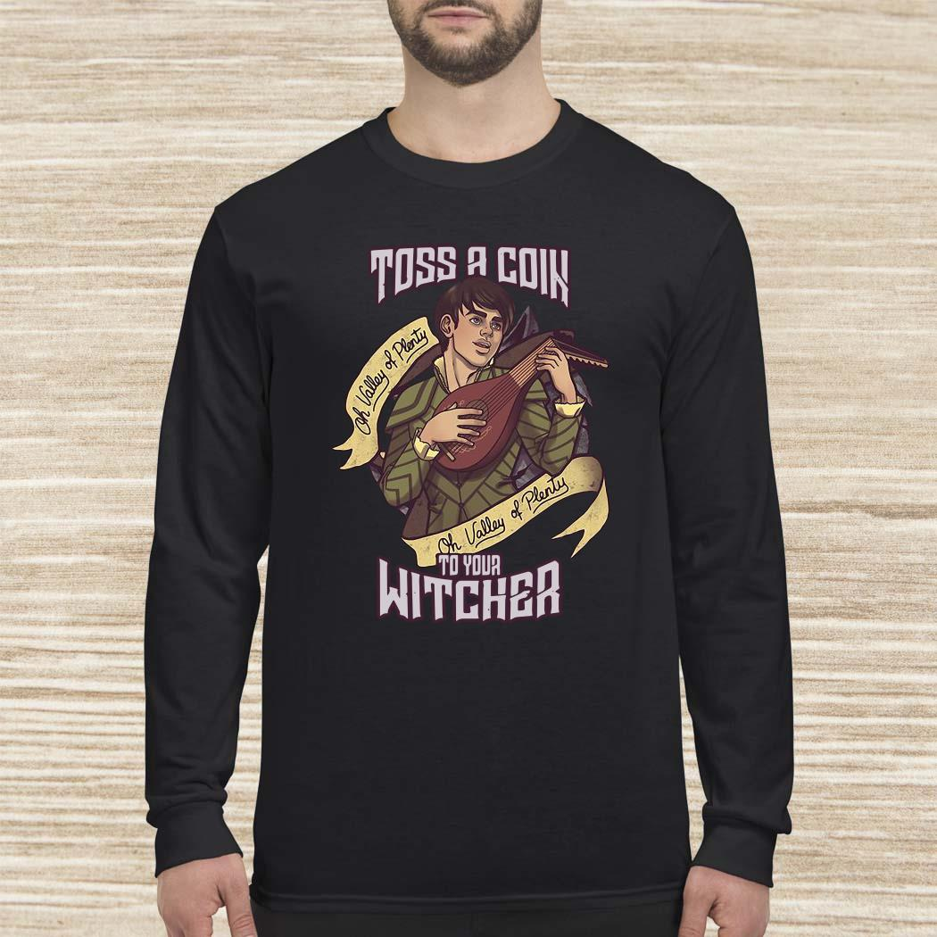 Jaskier Toss A Coin To Your Witcher Long-sleeved