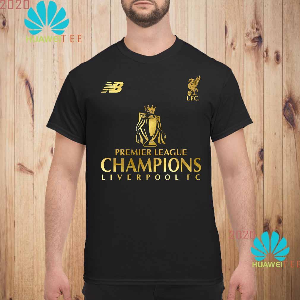 Premier League Champions List Liverpool FC T Shirt for Men and Woman.
