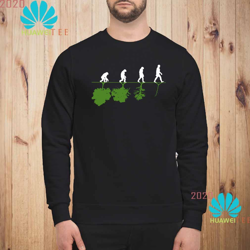 Evolution Humans And Trees Shirt sweatshirt