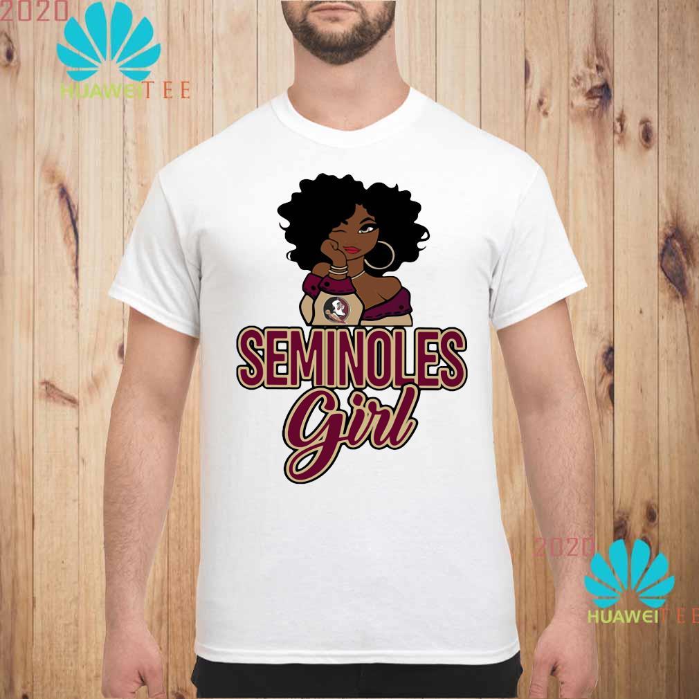 Florida State Seminoles Black Girl Shirt unisex