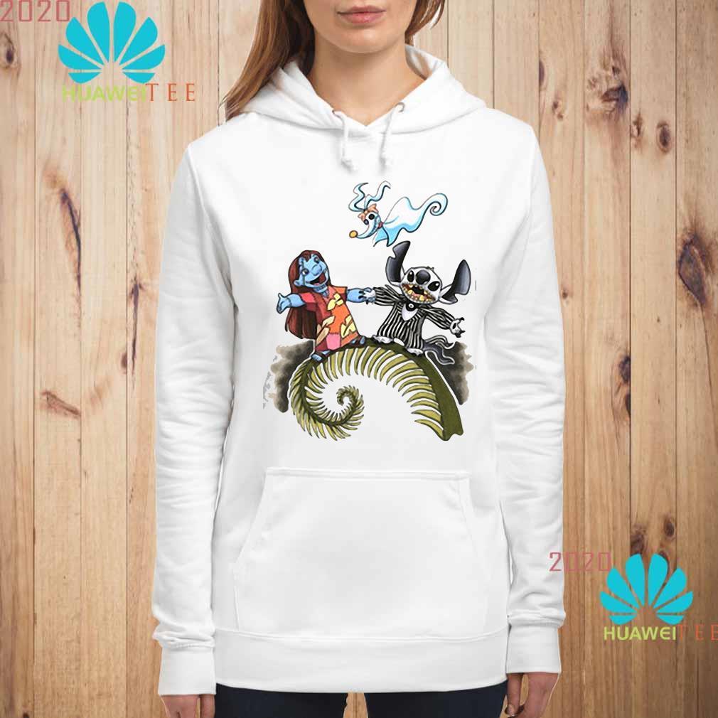 Lilo And Stitch As Jack And Sally Zero Shirt hoodie