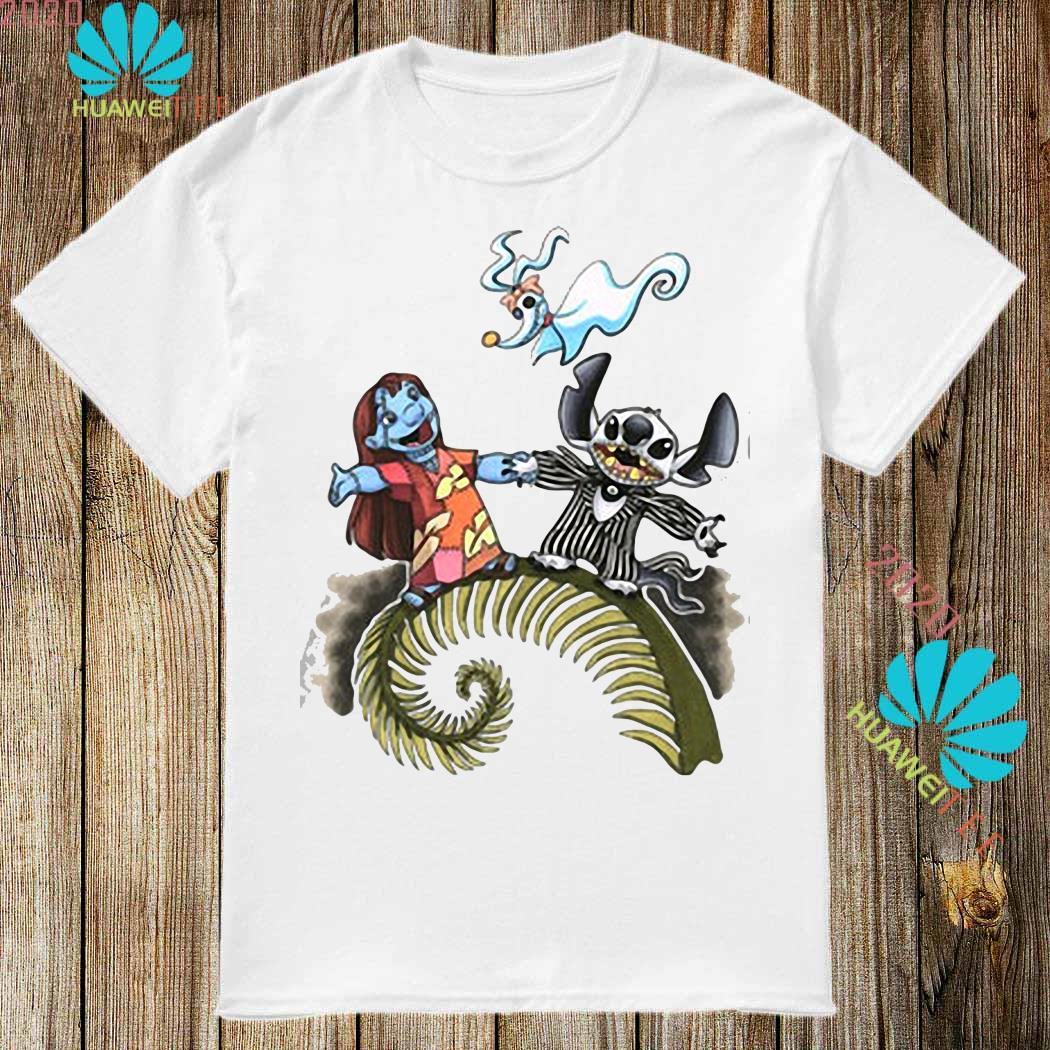 Lilo And Stitch As Jack And Sally Zero Shirt