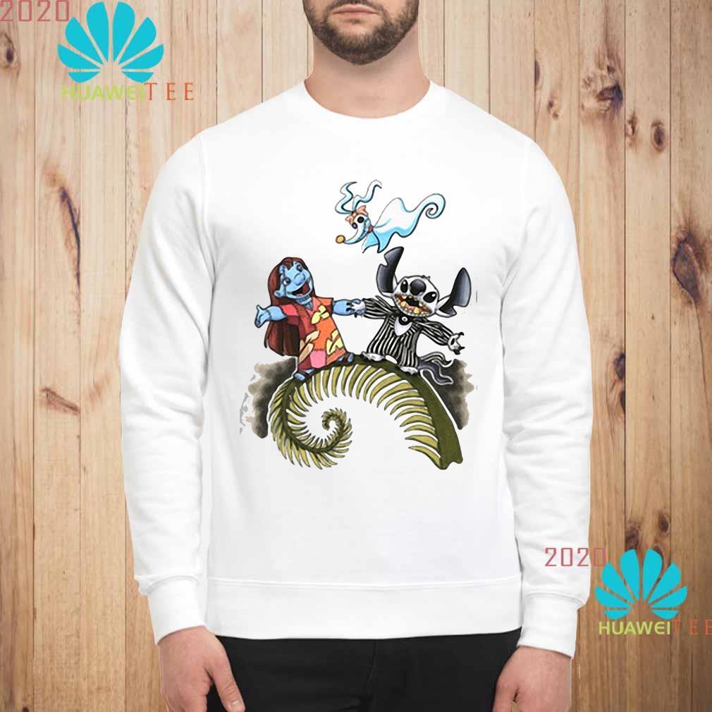 Lilo And Stitch As Jack And Sally Zero Shirt sweatshirt