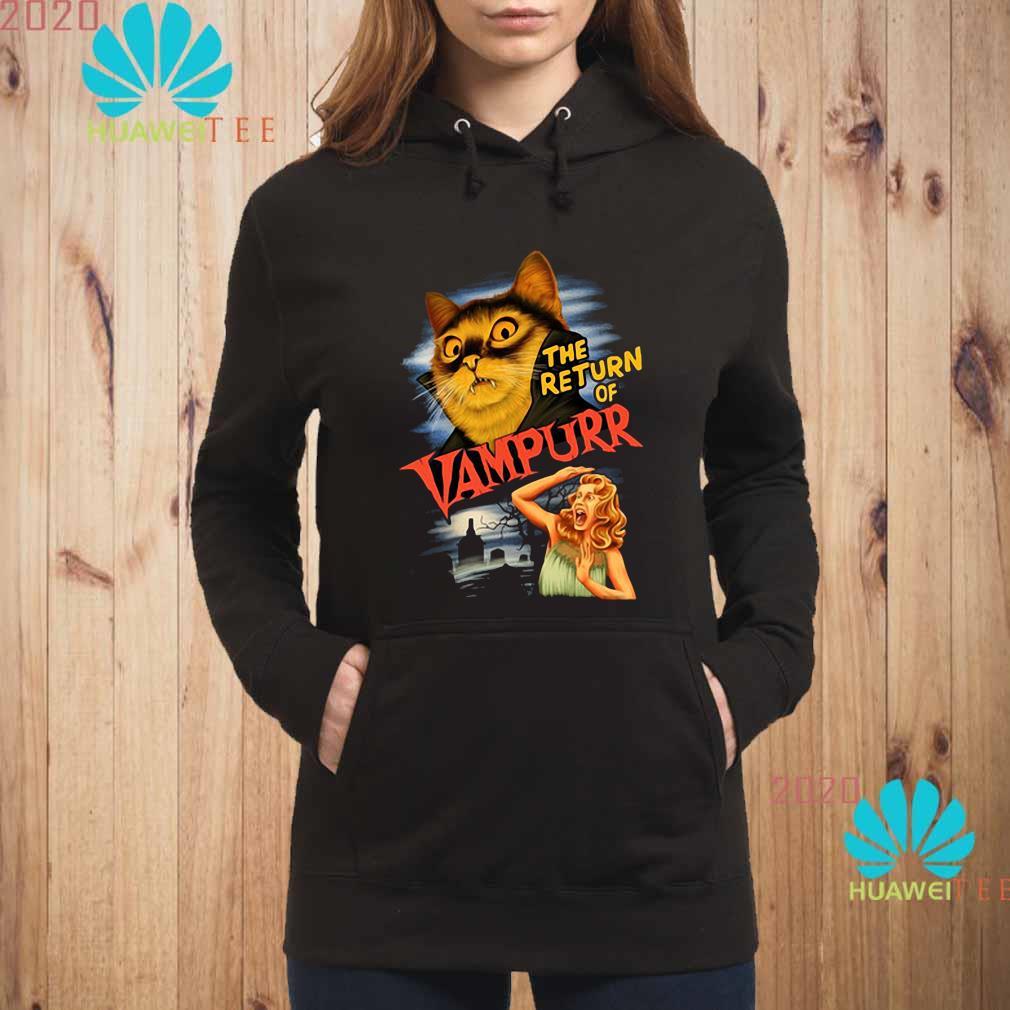 The Return Of Vampurr Cat Vampire Shirt hoodie