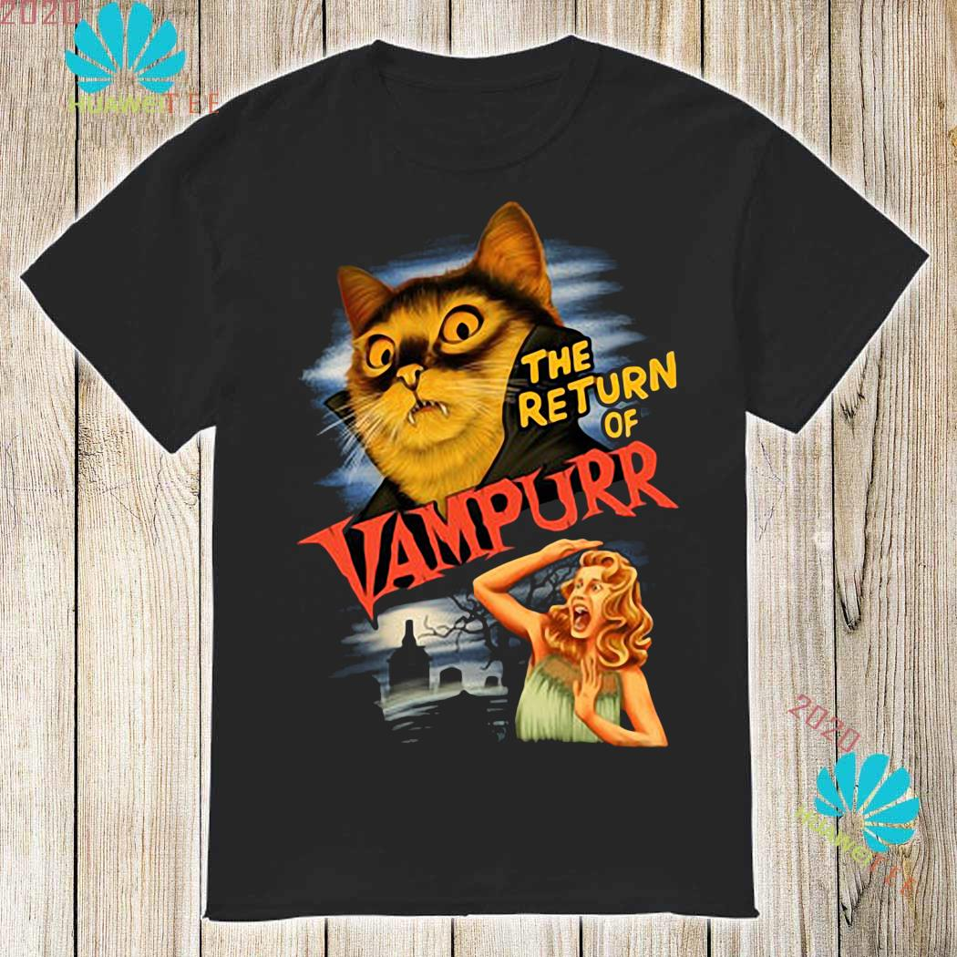 The Return Of Vampurr Cat Vampire Shirt