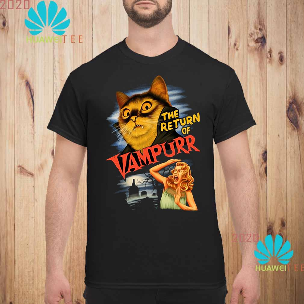 The Return Of Vampurr Cat Vampire Shirt unisex