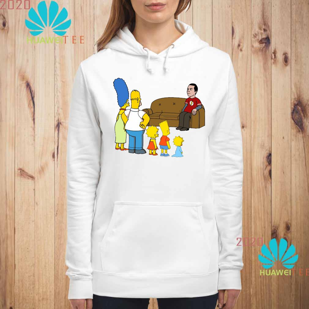 The Simpsons Family And Bazinga Shirt hoodie