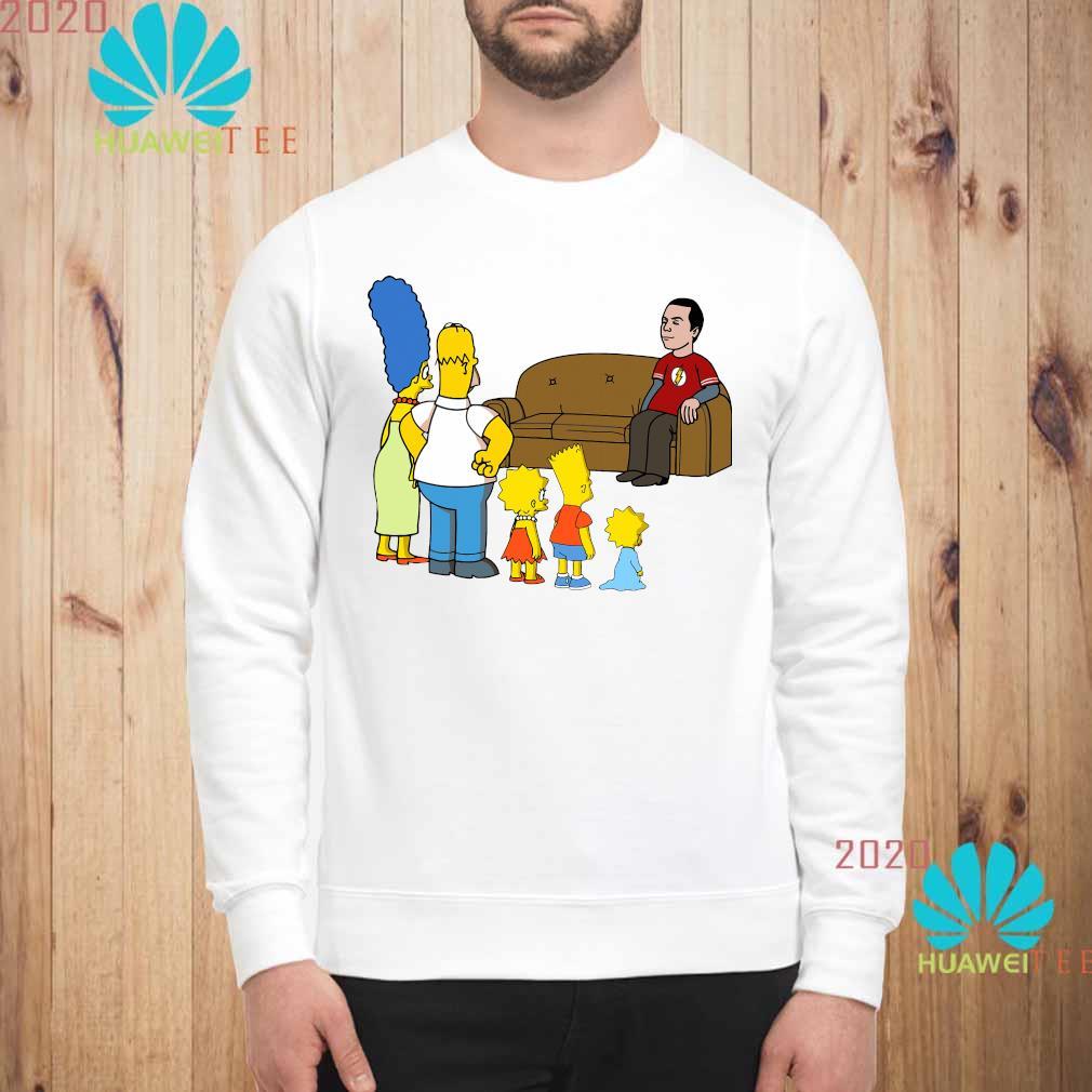 The Simpsons Family And Bazinga Shirt sweatshirt