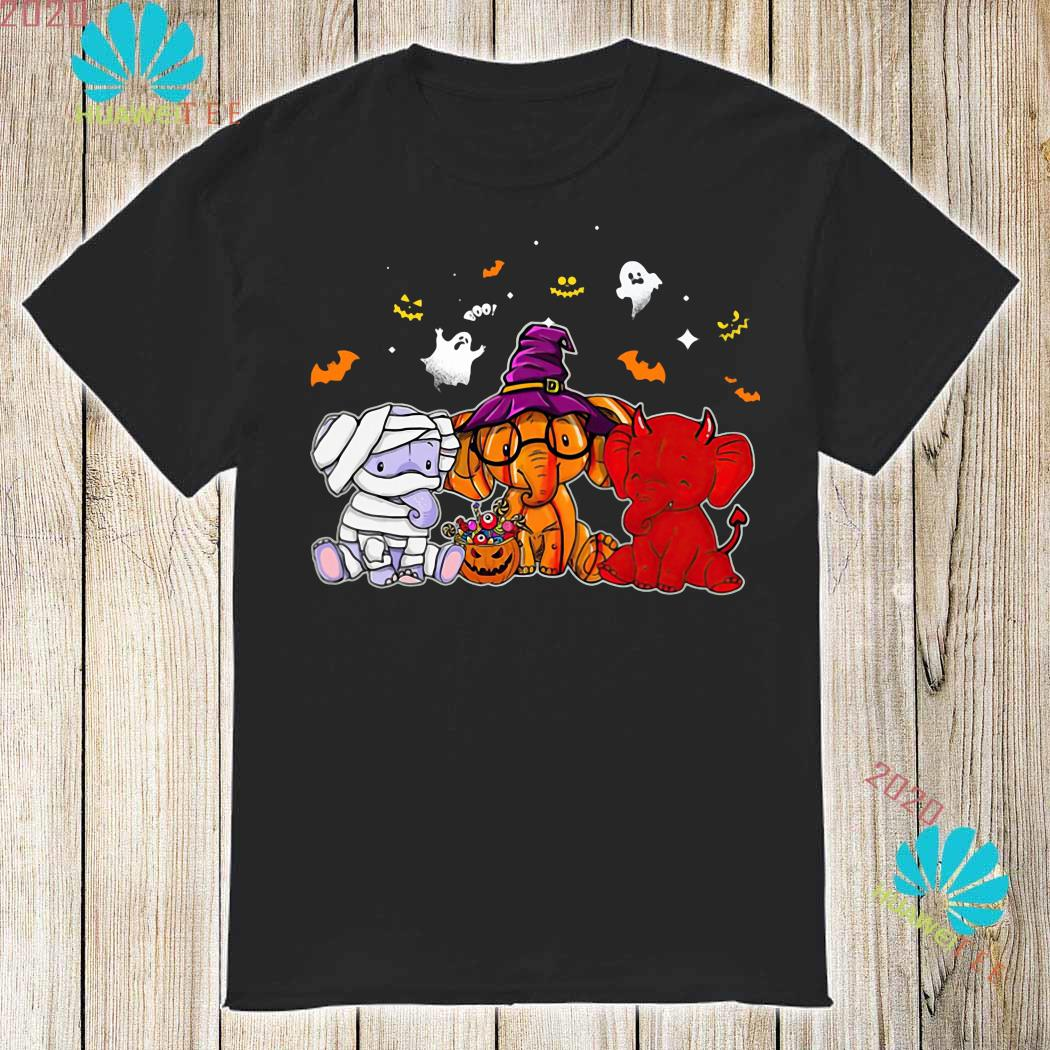 Elephant Pumpkin Halloween Shirt