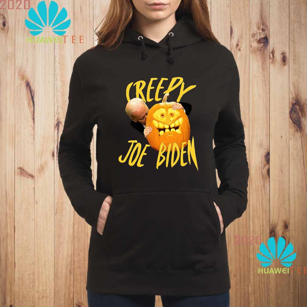 Joe Biden Hug Pumpkin Creepy Shirt hoodie