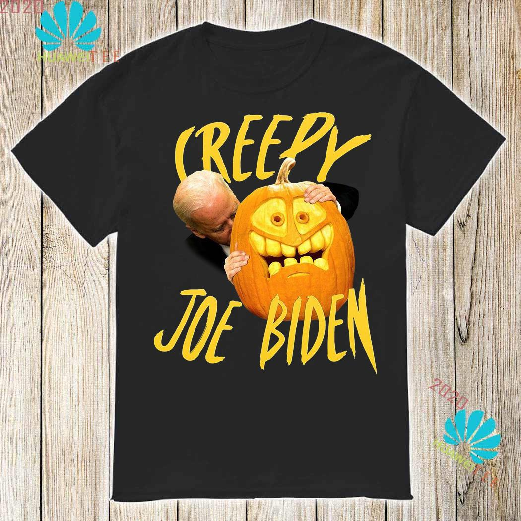 Joe Biden Hug Pumpkin Creepy Shirt