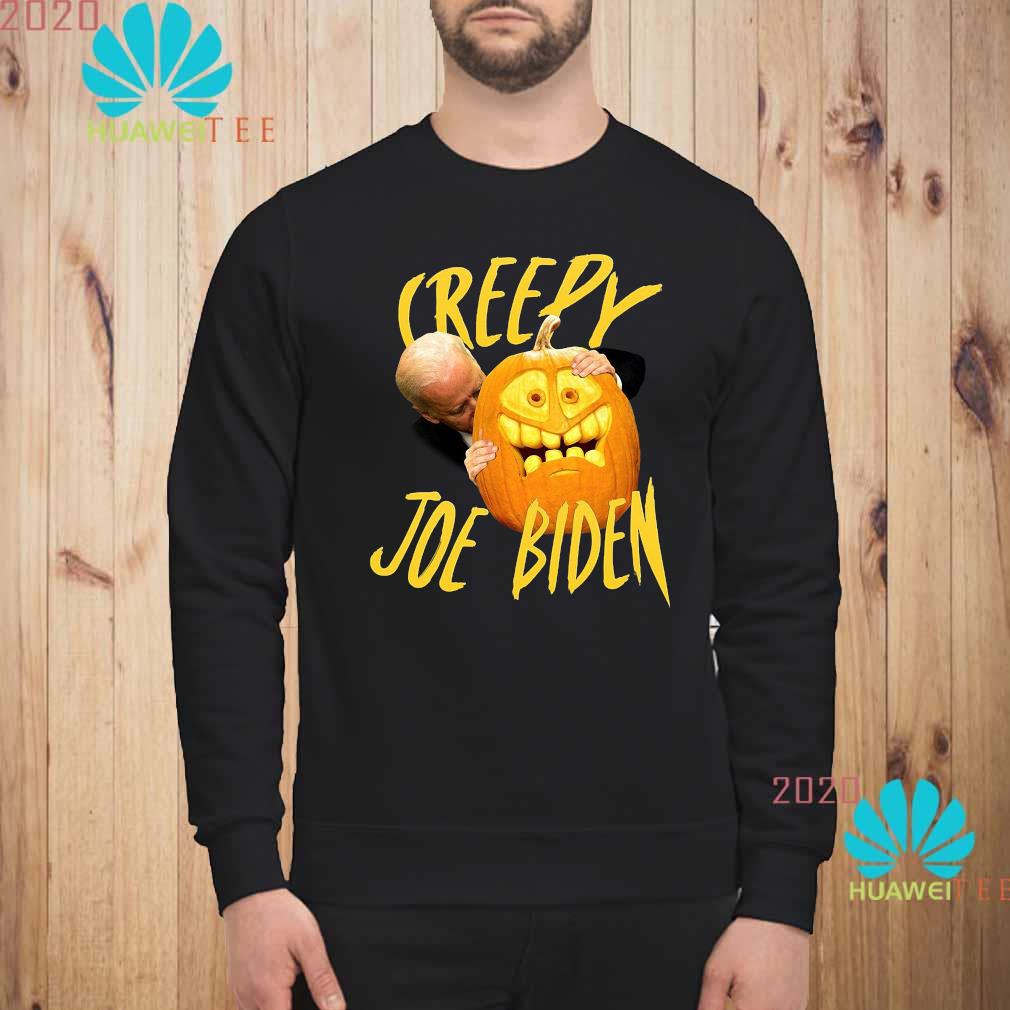 Joe Biden Hug Pumpkin Creepy Shirt sweatshirt