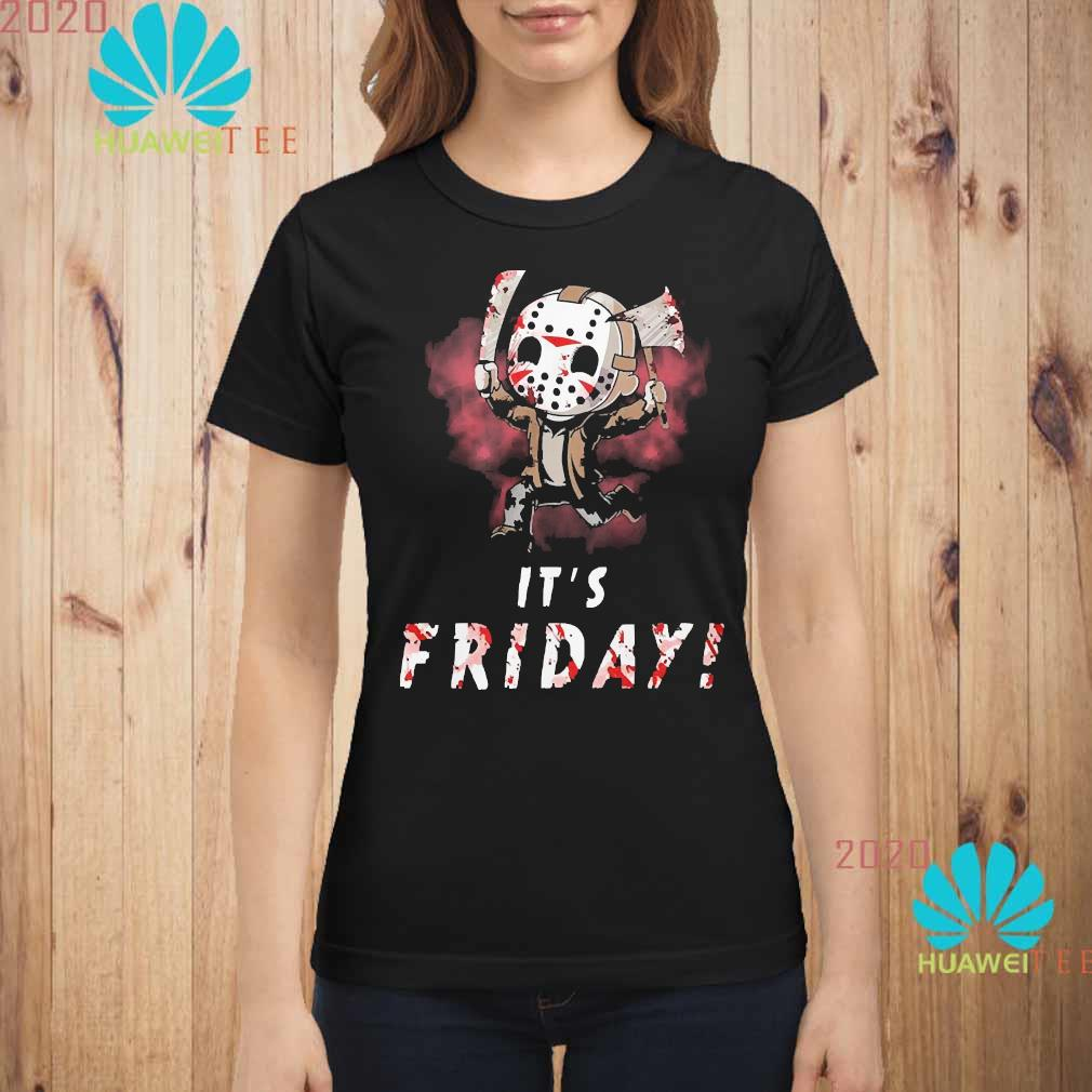 Michael Myers It's Friday Shirt ladies-shirt