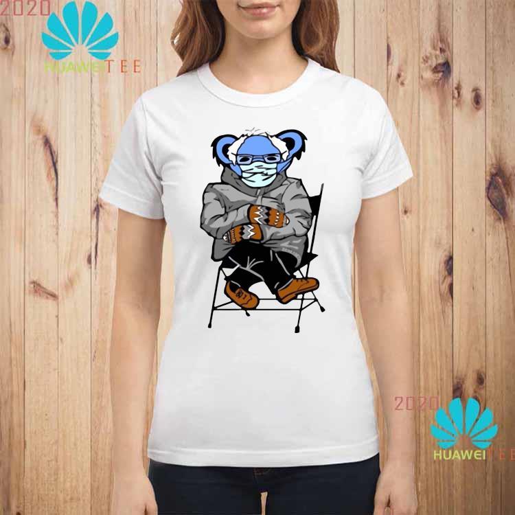 Bernie Sanders Grateful Bear Shirt ladies-shirt