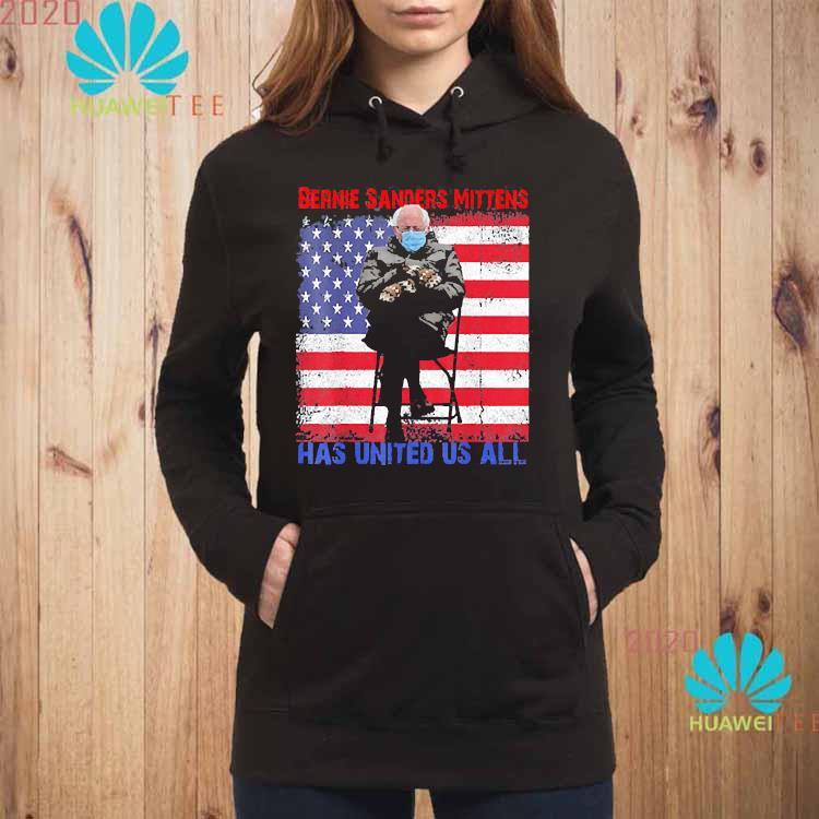 Bernie Sanders Mittens Sitting Inauguration USA Flag Shirt hoodie