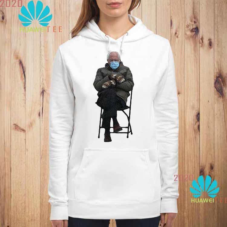 Bernie Sanders' Viral Inauguration Meme Is Now Immortalized In Shirt hoodie