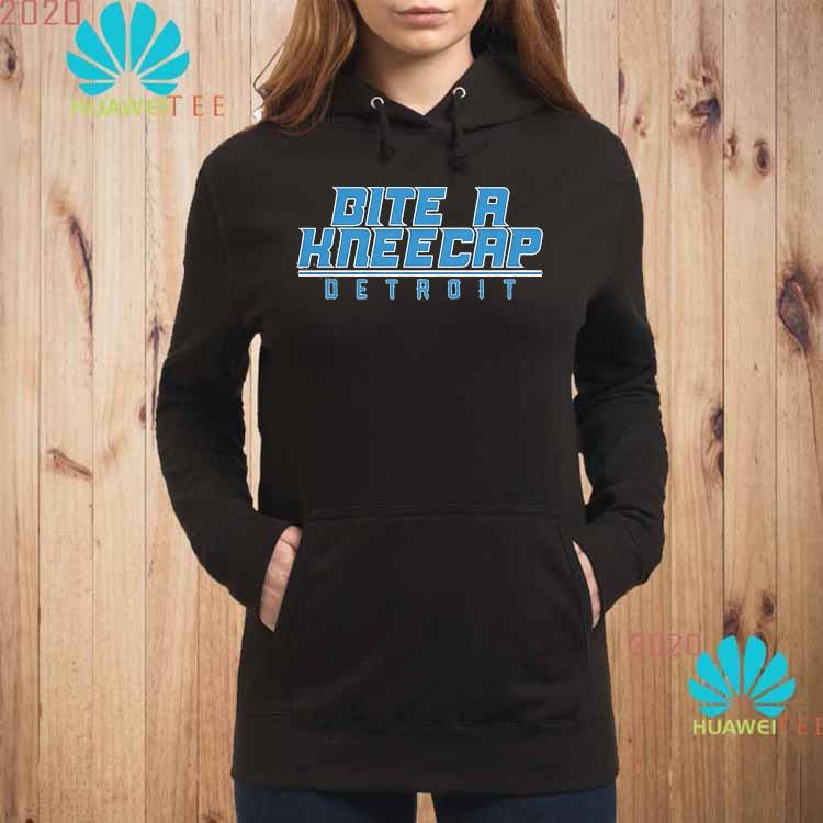 Bite A Kneecap Detroit Football Shirt hoodie