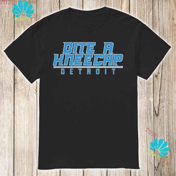 Bite A Kneecap Detroit Football Shirt